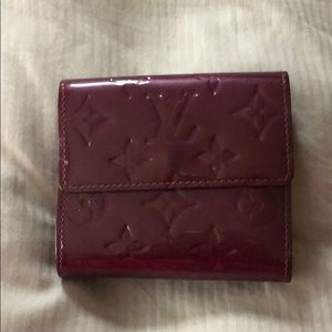Louis Vuitton Vernis Elise Wallet in Purple